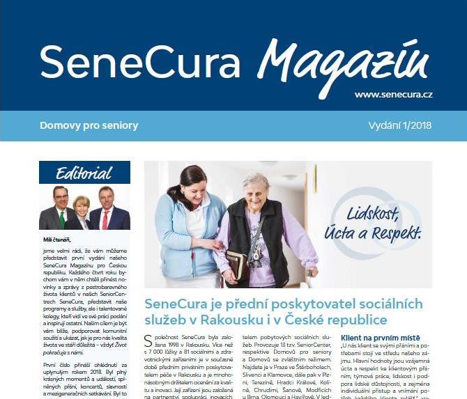 Malý dárek pro vás - SeneCura Magazín