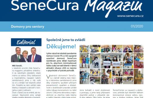Přečtěte si nové číslo SeneCura Magazínu!