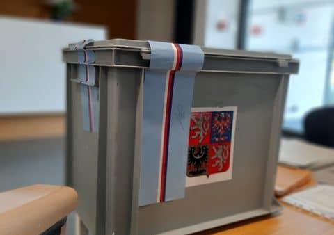 Krajské volby v SeniorCentru Liberec