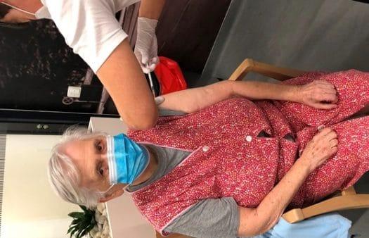 Druhé kolo očkování v SeniorCentru Liberec