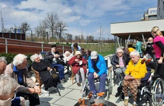 Oslava čarodějnic v SeniorCentru Liberec